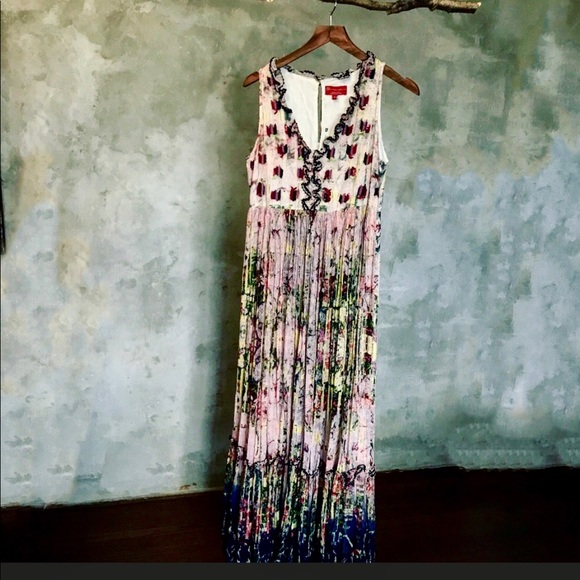 0b3e3d42ad59a Anthropologie Dresses | Cydney Tiered Printed Maxi Dress | Poshmark